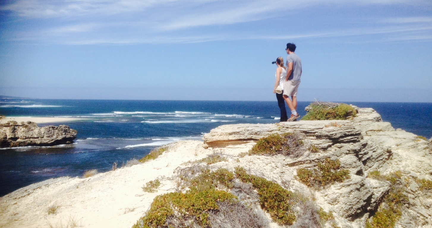 Jade and Mitch and Cape Mentelle