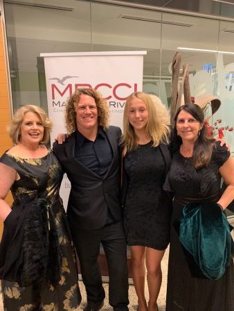 Cape To Cape Explorer Tours staff at the Margaret River Business Awards