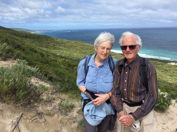 age is no barrier on Cape to Cape walk