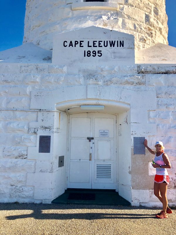 running the Cape to Cape Track